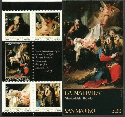 Znaczek San Marino 2006 Mi mh 8 Czyste **