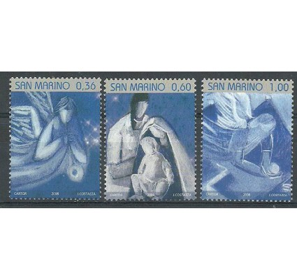 Znaczek San Marino 2008 Mi 2355-2357 Czyste **