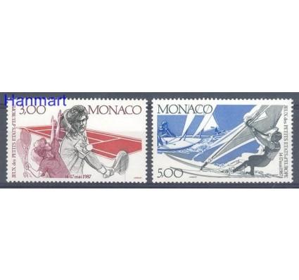 Znaczek Monako 1987 Mi 1808-1809 Czyste **