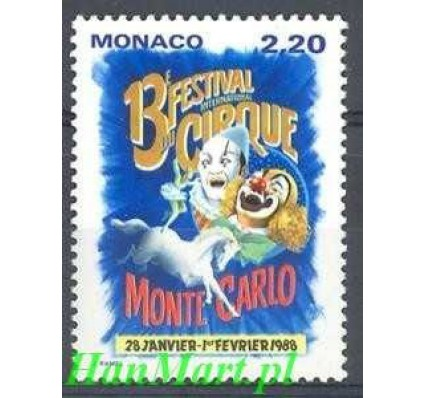 Znaczek Monako 1987 Mi 1825 Czyste **