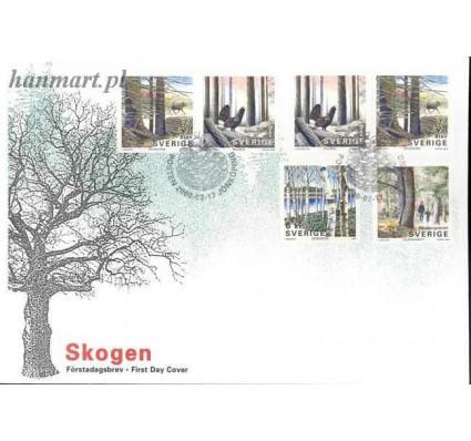 Znaczek Szwecja 2000 Mi 2172-2175 FDC