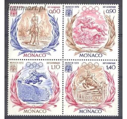 Znaczek Monako 1972 Mi 1045-1048 Czyste **