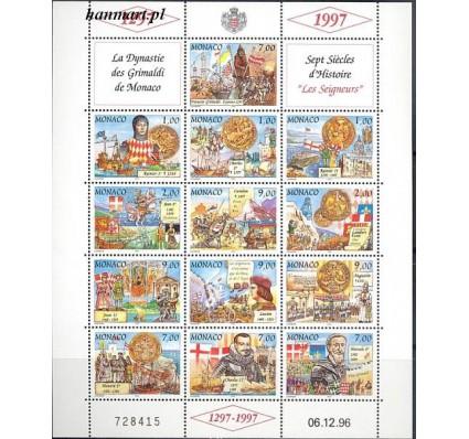 Znaczek Monako 1997 Mi ark 2340-2352 Czyste **