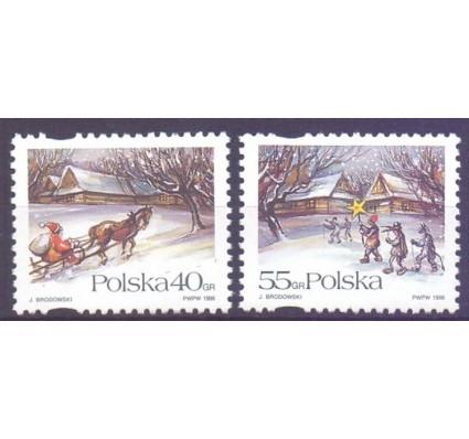 Znaczek Polska 1996 Mi 3627-3628 Fi 3479-3480 Czyste **