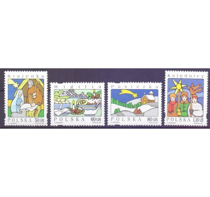Znaczek Polska 1997 Mi 3682-3685 Fi 3534-3537 Czyste **