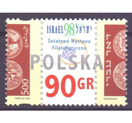 Polska 1998 Mi 3713 Fi 3565 Czyste **