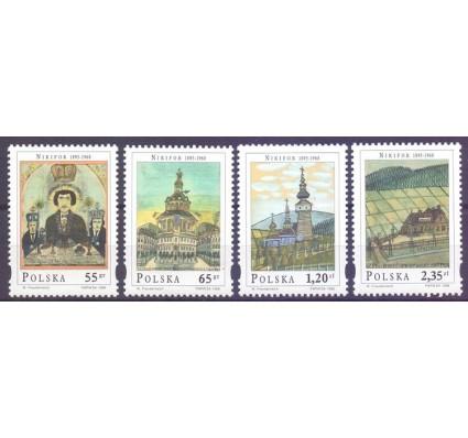 Znaczek Polska 1998 Mi 3717-3720 Fi 3569-3572 Czyste **