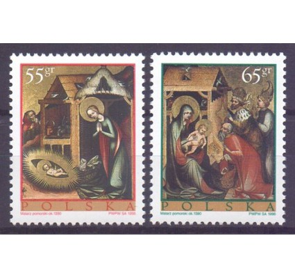 Znaczek Polska 1998 Mi 3734-3735 Fi 3586-3587 Czyste **