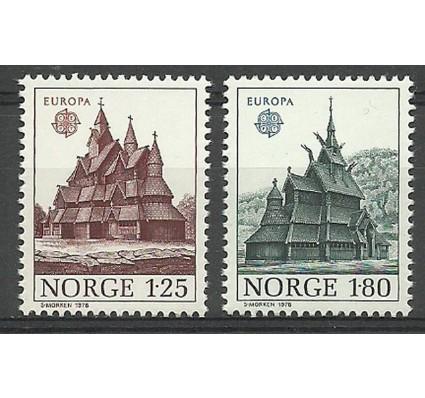 Norwegia 1978 Mi 769-770 Czyste **