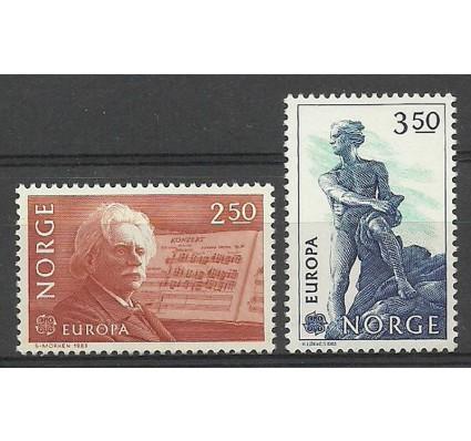 Znaczek Norwegia 1983 Mi 885-886 Czyste **