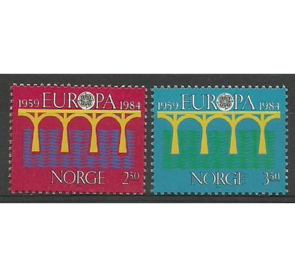 Znaczek Norwegia 1984 Mi 904-905 Czyste **
