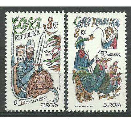 Znaczek Czechy 1997 Mi 144-145 Czyste **