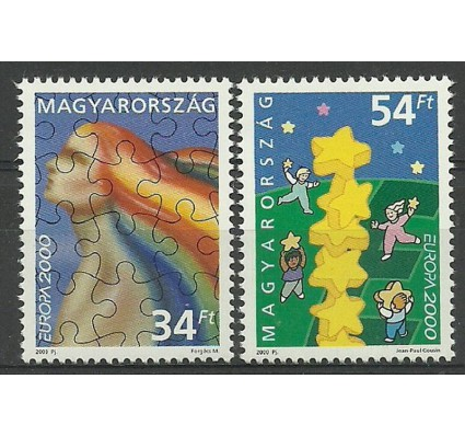 Znaczek Węgry 2000 Mi 4596-4597 Czyste **