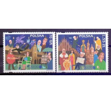 Polska 2000 Mi 3825-3826 Czyste **