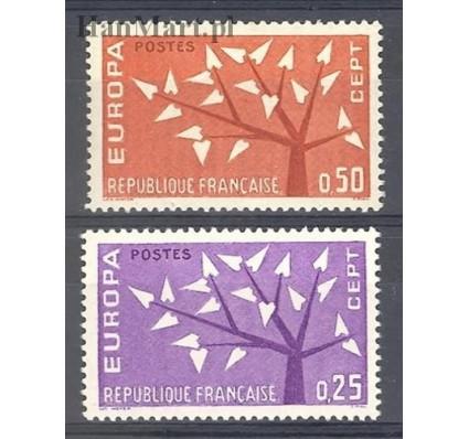 Znaczek Francja 1962 Mi 1411-1412 Czyste **