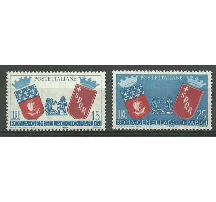 Znaczek Włochy 1959 Mi 1034-1035 Czyste **