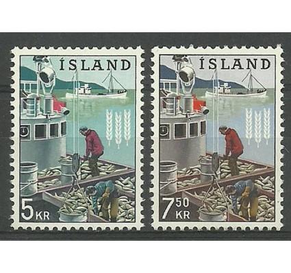 Znaczek Islandia 1963 Mi 370-371 Czyste **