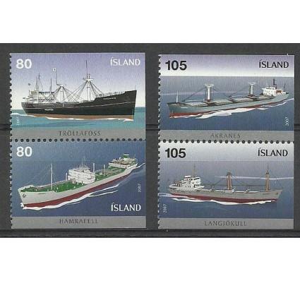 Znaczek Islandia 2007 Mi 1157-1160E Czyste **