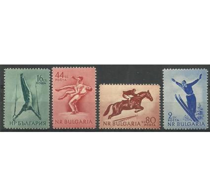 Znaczek Bułgaria 1954 Mi 928-931 Czyste **