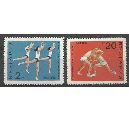Znaczek Bułgaria 1969 Mi 1929-1930 Czyste **