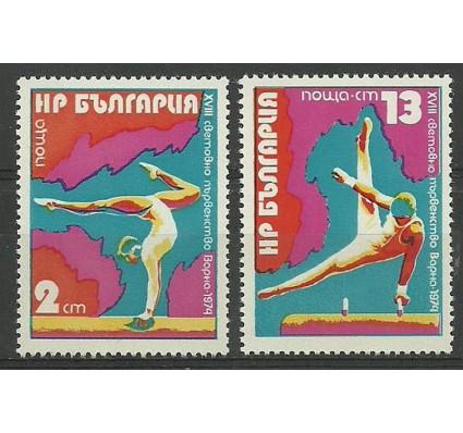 Znaczek Bułgaria 1974 Mi 2369-2370 Czyste **