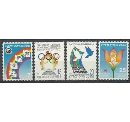 Znaczek Cypr 1994 Mi 821-824 Czyste **