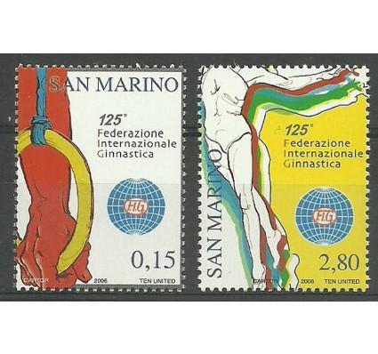 Znaczek San Marino 2006 Mi 2272-2273 Czyste **