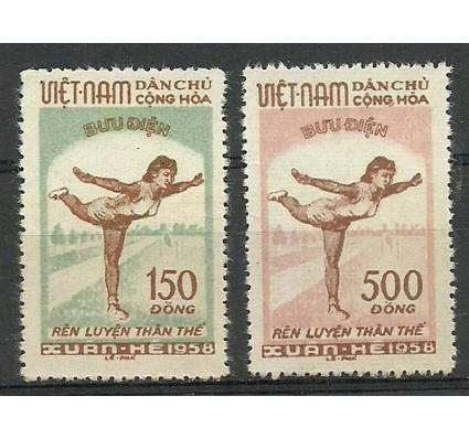 Znaczek Wietnam 1958 Mi 70-71 Czyste **