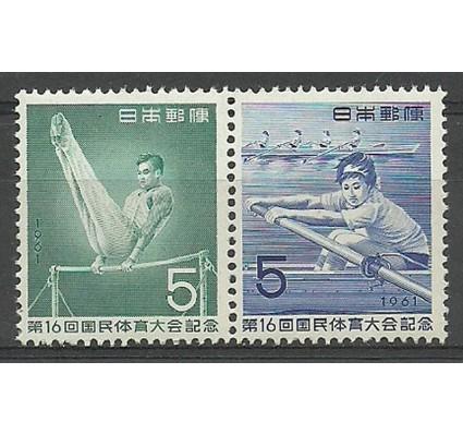 Znaczek Japonia 1961 Mi 774-775 Czyste **