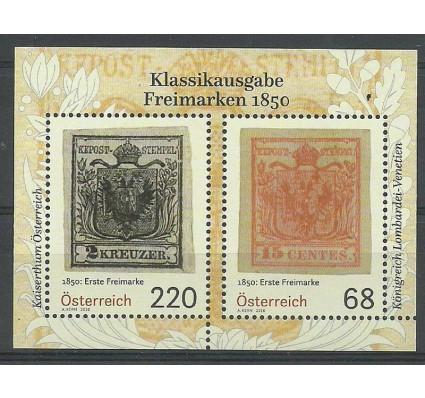 Znaczek Austria 2016 Mi bl 89 Czyste **