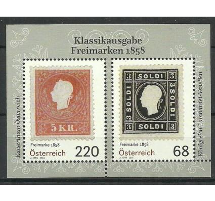 Znaczek Austria 2016 Mi bl 91 Czyste **