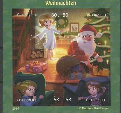 Znaczek Austria 2016 Mi bl 92 Czyste **