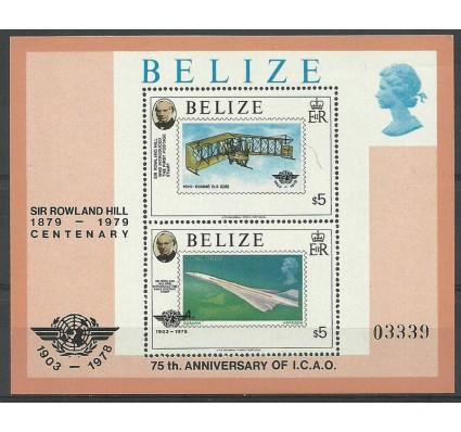 Znaczek Belize 1979 Mi bl 8 Czyste **