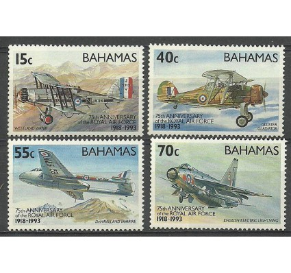 Znaczek Bahamy 1993 Mi 801-804 Czyste **