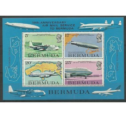 Znaczek Bermudy 1975 Mi bl 2 Czyste **