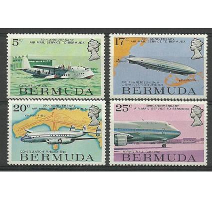 Znaczek Bermudy 1975 Mi 307-310 Czyste **