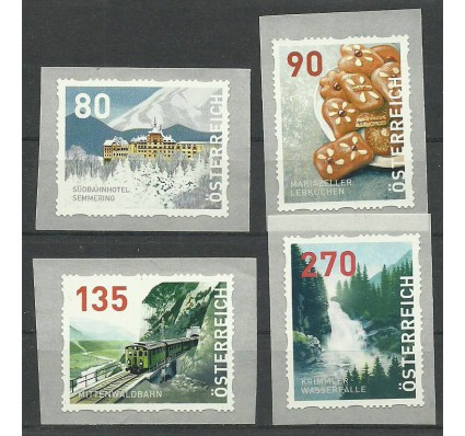 Znaczek Austria 2018 Mi DM13-DM16 Czyste **