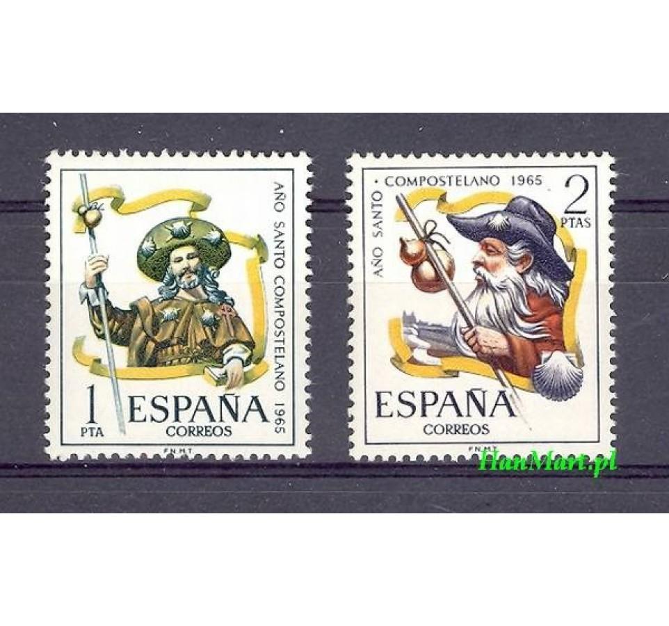 Hiszpania 1965 Mi 1557-1558 Czyste **