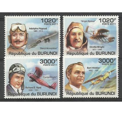 Znaczek Burundi 2011 Mi 2210-2213 Czyste **