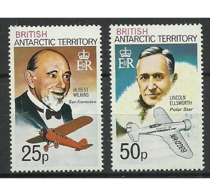 Znaczek Brytyjskie Terytorium Antarktyczne 1973 Mi 57-58 Czyste **