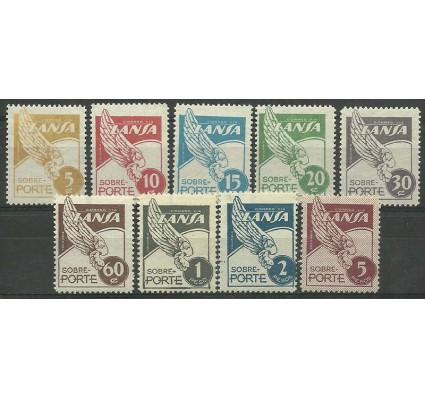Znaczek Kolumbia 1950 Mi 557-565 Czyste **