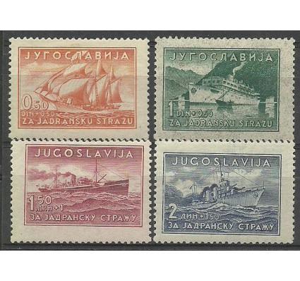 Znaczek Jugosławia 1939 Mi 385-388 Z podlepką *