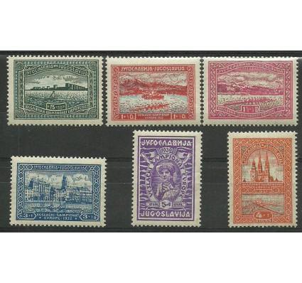 Znaczek Jugosławia 1932 Mi 243-248 Z podlepką *