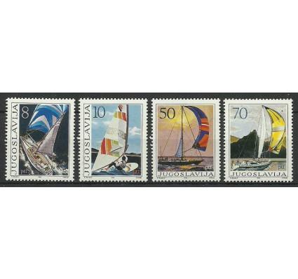 Znaczek Jugosławia 1985 Mi 2115-2118 Czyste **