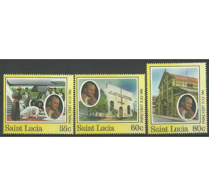 Znaczek Saint Lucia 1986 Mi 844-846 Czyste **