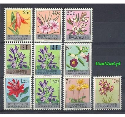Rwanda 1963 Mi 13-22 Czyste **