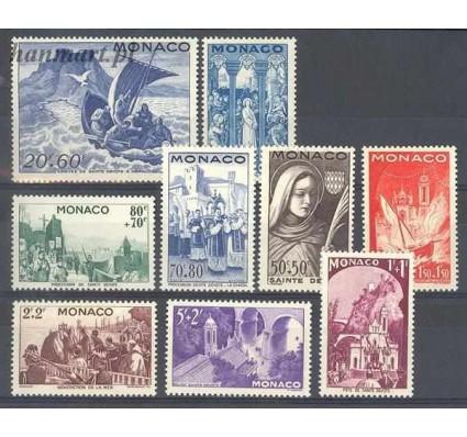 Znaczek Monako 1944 Mi 288-298 Czyste **
