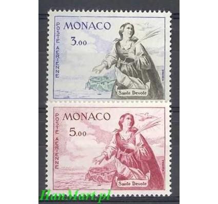 Znaczek Monako 1961 Mi 671-672 Czyste **