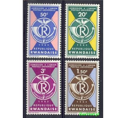 Znaczek Rwanda 1963 Mi 37-40 Czyste **