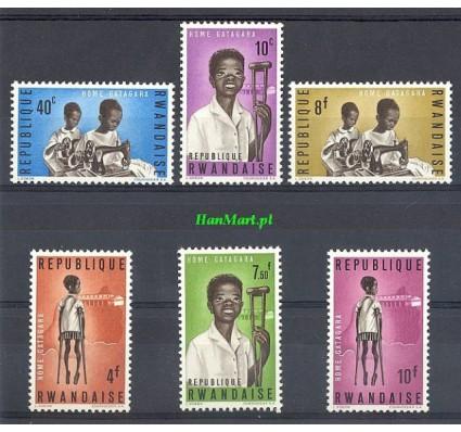 Rwanda 1964 Mi 71-76 Czyste **